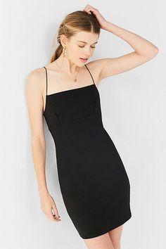 1ce4dc3b079 UO Tai Empire Waist Ponte Mini Dress