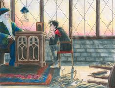 """burdge-bug 's Deviant Art - """"I feel I owe you another explanation, Harry,"""" said Dumbledore hesitantly. """"You may, perhaps, have wondered why I never chose you as a prefect? I must confess… that I rather thought… you had enough responsibility to be going on with.""""    Harry looked up at him and saw a tear trickling down Dumbledore's face into his long silver beard.    -page 844, Harry Potter and the Order of the Pheonix"""