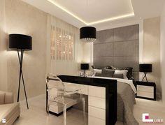 Sypialnia styl Nowoczesny - zdjęcie od CUBE Interior Design - Sypialnia - Styl Nowoczesny - CUBE Interior Design