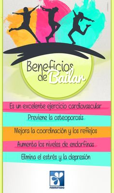 ¡A bailar! #ViveSaludable Healthy Habits, Healthy Tips, Health And Wellness, Health Fitness, Qigong, Gym Workouts, Exercise, Dancing, Zero