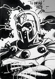 Magneto Comic Art