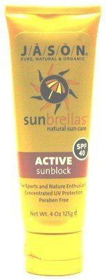 Jason Sunbrella Active SPF# 40 Sunblock 4 oz. Tube (Case of 6) by Jason. $49.99