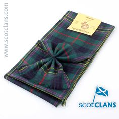 Kennedy Modern Tartan Mini Sash. Free Worldwide Shipping Available