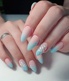 52 Cute and Lovely Pink Nails Designs to Look Romantic and Girly - Nail Designs Classy Nails, Stylish Nails, Trendy Nails, Almond Acrylic Nails, Best Acrylic Nails, Nail Manicure, Gel Nails, Stiletto Nails, Nail Polish