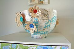 Side of spotty bowl | Flickr - Photo Sharing!