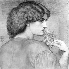 Various portrait studies by Dante Gabriel Rossetti « The Artistic Anatomy Blog