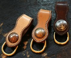 Mann&Co Leather Workshop - Getting crazy on making coin conchos these days....