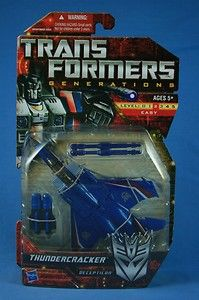 Transformers Generations THUNDERCRACKER SOLD
