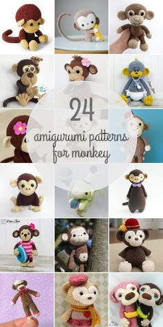 Monkey patterns - Amigurumipatterns.net