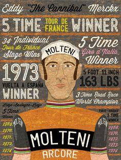 Eddy Merckx #cycling #eddymerckx