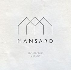This may be my favorite logo in this board I love the ALL CAPS with the thin lines and the minimal, architectural design above is part of Architect logo, Design studio logo, Architecture logo, Minima - Corporate Design, Branding Design, Interior Design Logos, Logo Inspiration, Studio Logo, Logo Design Studio, Creative Logo, Behance Logo, Arquitectura Logo