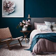 bedroom colours   17 Ways to Incorporate Pantone's Discretion Palette into Your Home