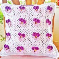«Fique por dentro das novidades do mundo do crochê, curta a nossa Página --> www.facebook.com/BarbantesCia»