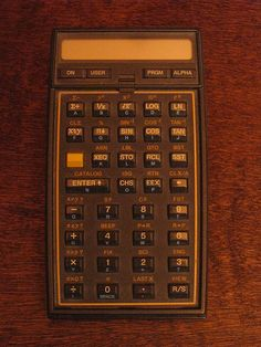 HP-41CV Scientific Calculator by retrocomputers, via Flickr