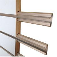 """Slatwall Metal Aluminium Inserts 96"""" long"""