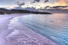 The pink sand of Bermuda.