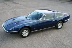 Classic Car News – Classic Car News Pics And Videos From Around The World Classic European Cars, Classic Cars, My Dream Car, Dream Cars, Maserati Indy, Maserati Merak, Royce Car, Best Muscle Cars, Unique Cars