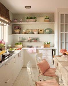 Sehe dir das Foto von Schuhfreak mit dem Titel Noch eine Küche im Landhausstil und andere inspirierende Bilder auf Spaaz.de an.