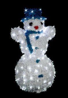 Snehuliak veľký s LED diódami - - Snow Globes, Christmas Ornaments, Holiday Decor, Home Decor, Decoration Home, Room Decor, Christmas Jewelry, Christmas Decorations, Home Interior Design