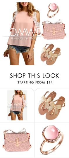 """""""pink panther"""" by krissybob ❤ liked on Polyvore"""