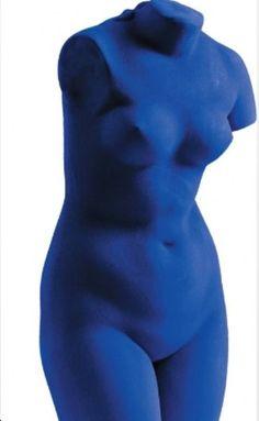 Yves Klein. Blue Venus, 1962.