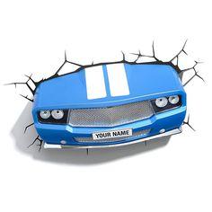 3DFX Kinkiet Dekoracyjny LED Classic Car 15176 : Oświetlenie dziecięce : Sklep internetowy Elektromag Lighting #kids