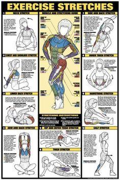 Egzersiz ve gerilme hareketleri