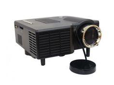 Multimédiás LED projektor sztereó hangszóróval - Zene, TV, DVD nézésre! - Nagyon OLCSÓN