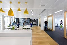 Blitz Architecture + Interiors has developed a new office design for customer service software provider Zendesk located in London.