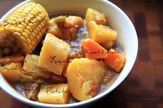 Sancocho--Puerto Rican beef stew.