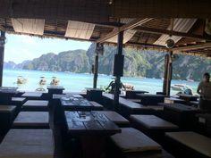 Breakfast in Ko Phi Phi , Thailand