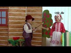 O veliké řepě a O Budulínkovi divadelní představení MŠ v Jedovnicích - YouTube
