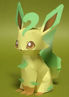 leafeon paper craft