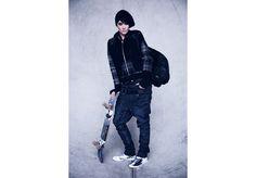 Ellen Look 6 High Fashion, Street Wear, Unisex, Denim, Coat, Leather, Jackets, Collection, Down Jackets