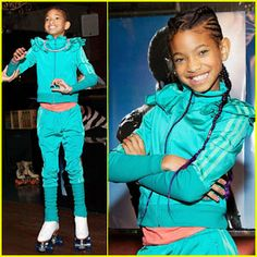 Willow Smith Roller Skating
