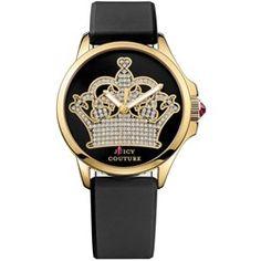abc5775fdfc Relógio Juicy Couture Feminino Borracha Preta - 1901142 Preto