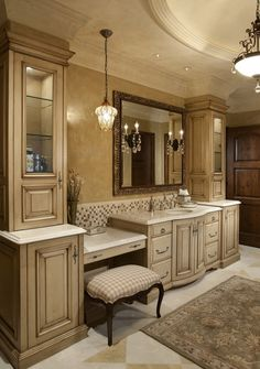 Bathroom decor for the master bathroom remodel. Discover master bathroom organization, bathroom decor tips, bathroom tile tips, bathroom paint colors, and more. Elegant Home Decor, Elegant Homes, Beautiful Bathrooms, Modern Bathroom, Bathroom Ideas, Bathroom Organization, Design Bathroom, Parisian Bathroom, Minimal Bathroom