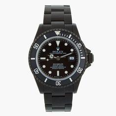 Black Edition Rolex Watches