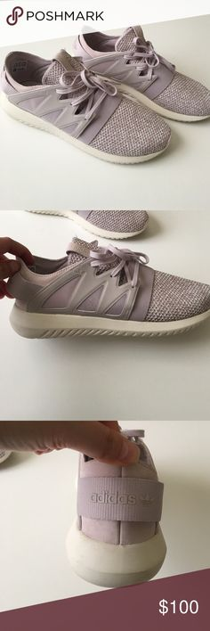 Adidas Tubular Viral Shoes NWOT ... only wore onces. In perfect condition. Bought at Adidas store. Color is a real pale pink. Adidas Shoes Sneakers