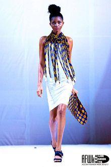 Aphia Sakyi Accra Fashion Week