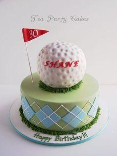 Shanes Golf Cake