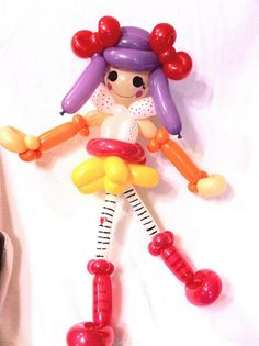 balloon lalaloopsy doll by Pookie Foster, via Flickr