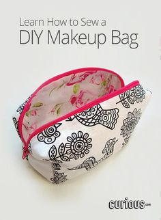 In this lesson from StyleNovice, learn how to make your very own box-shaped makeup bag, step-by-step! It's an easy, fun, adorable DIY project.