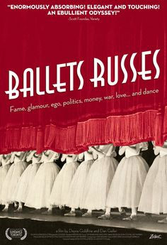 "MP290. ""Ballets russes"" Movie Poster by Adrian Curry (Daniel Geller & Dayna Goldfine 2005) / #Movieposter"