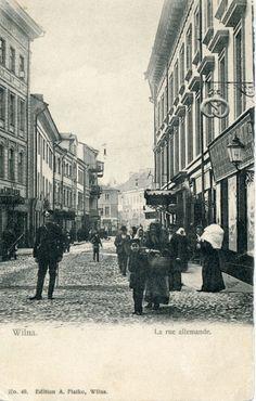Vokiečių gatvė. [1902-1990] m.