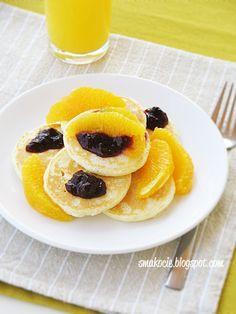 Smakocie i Łakołyki: Placuszki z kaszy manny