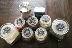 This BBQ dry rub is great for chicken, ribs, pork, and beef! Prep time: 5 minutes Makes a little over 4 ounces Dry Rub Ingredients: cup packed… Spice Rub, Spice Mixes, Spice Blends, How To Cook Brisket, Cooking Brisket, Bbq Dry Rub, Dry Rub Recipes, Meat Rubs, Smoked Beef Brisket
