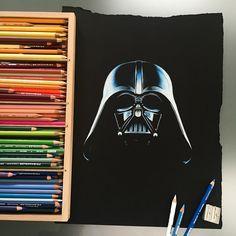 Darth Vader by Stephen Ward
