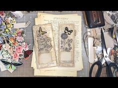 Edith Holden Pages~Process Tutorial-Beginners~Pocket Tuck~Junk Journal Edith Holden, Book Journal, Journal Covers, Art Journals, Journal Ideas, Cut Paper, Paper Art, Book Sculpture, Journaling