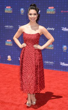 Auli'i Cravalho from Radio Disney Music Awards 2017: Red Carpet Arrivals  Moana's breakout star prepares to grace the stage to perform a medley from the popular Disney flick.